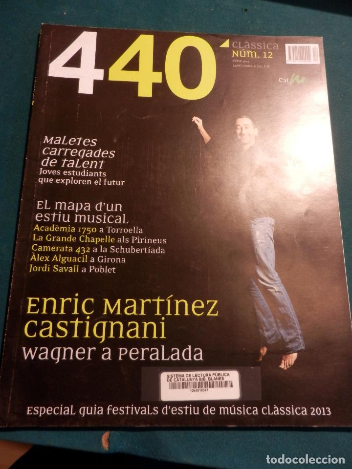 Revistas de música: 440 CLÀSSICA & JAZZ - LOTE 34 REVISTAS EN CATALÀ Nº 2-3-4-5-6-7-8-9-10-11-12-13-14-15-16-17-18-19... - Foto 11 - 65452894