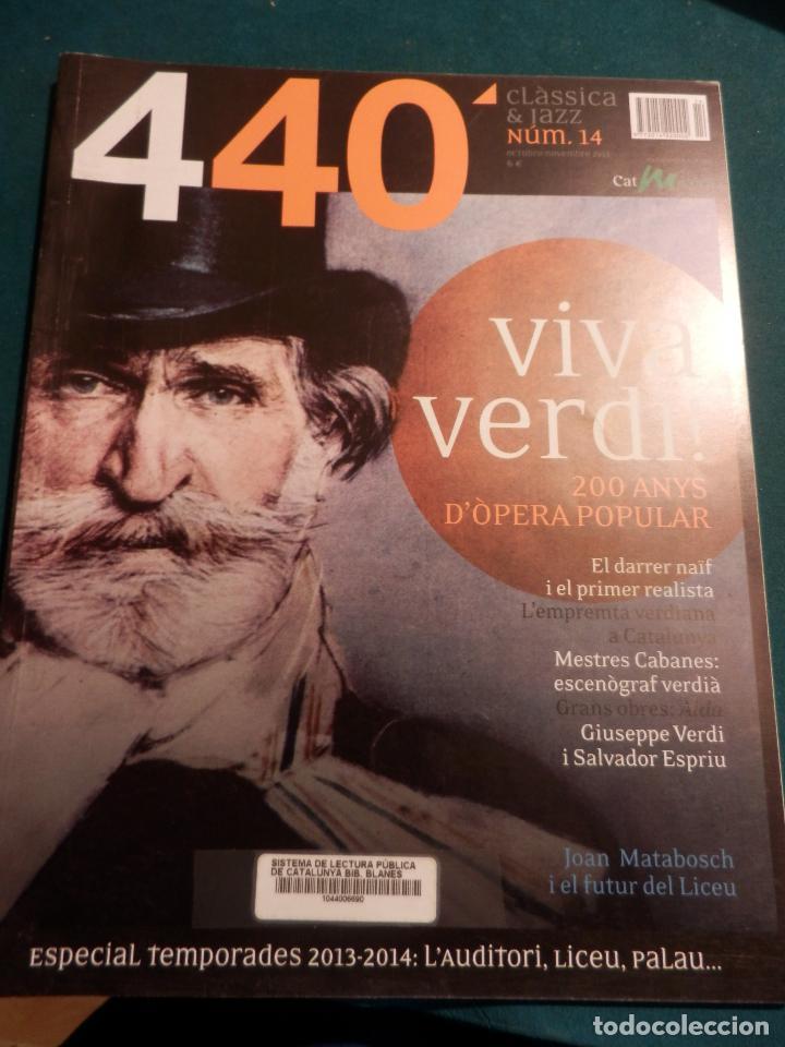 Revistas de música: 440 CLÀSSICA & JAZZ - LOTE 34 REVISTAS EN CATALÀ Nº 2-3-4-5-6-7-8-9-10-11-12-13-14-15-16-17-18-19... - Foto 13 - 65452894