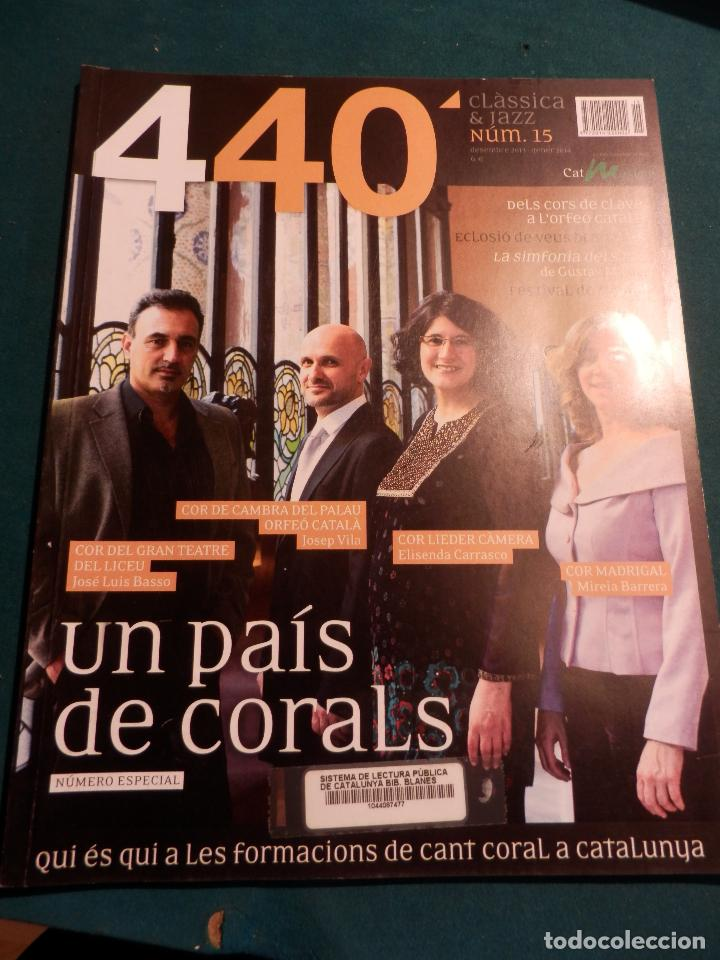 Revistas de música: 440 CLÀSSICA & JAZZ - LOTE 34 REVISTAS EN CATALÀ Nº 2-3-4-5-6-7-8-9-10-11-12-13-14-15-16-17-18-19... - Foto 14 - 65452894