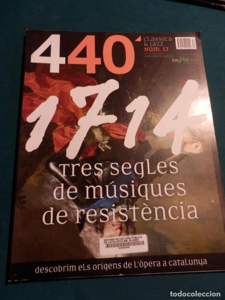 Revistas de música: 440 CLÀSSICA & JAZZ - LOTE 34 REVISTAS EN CATALÀ Nº 2-3-4-5-6-7-8-9-10-11-12-13-14-15-16-17-18-19... - Foto 15 - 65452894