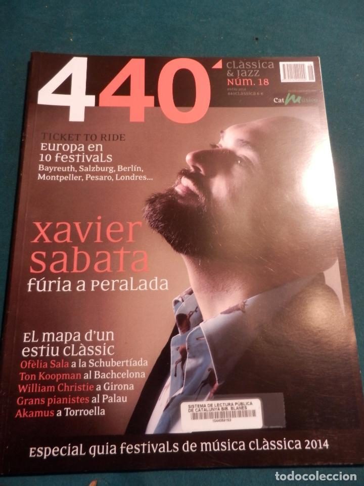 Revistas de música: 440 CLÀSSICA & JAZZ - LOTE 34 REVISTAS EN CATALÀ Nº 2-3-4-5-6-7-8-9-10-11-12-13-14-15-16-17-18-19... - Foto 16 - 65452894