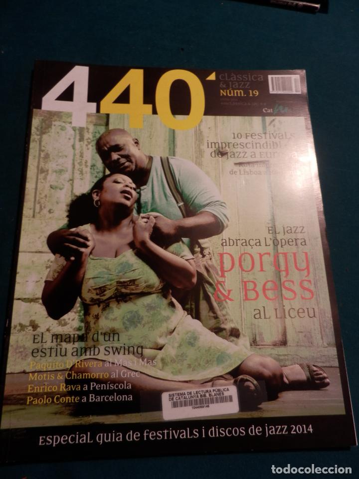 Revistas de música: 440 CLÀSSICA & JAZZ - LOTE 34 REVISTAS EN CATALÀ Nº 2-3-4-5-6-7-8-9-10-11-12-13-14-15-16-17-18-19... - Foto 17 - 65452894