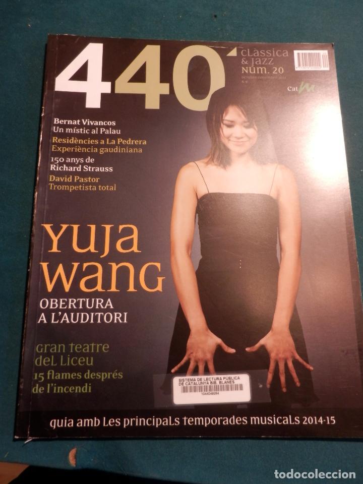 Revistas de música: 440 CLÀSSICA & JAZZ - LOTE 34 REVISTAS EN CATALÀ Nº 2-3-4-5-6-7-8-9-10-11-12-13-14-15-16-17-18-19... - Foto 18 - 65452894