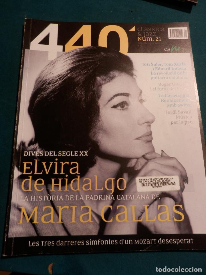 Revistas de música: 440 CLÀSSICA & JAZZ - LOTE 34 REVISTAS EN CATALÀ Nº 2-3-4-5-6-7-8-9-10-11-12-13-14-15-16-17-18-19... - Foto 19 - 65452894