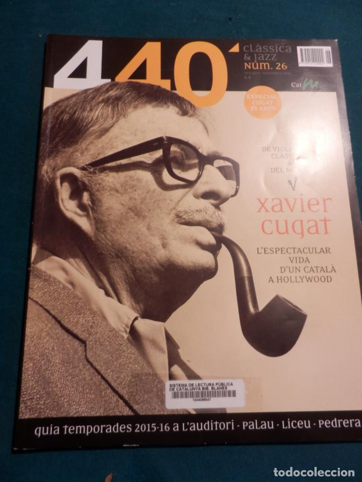 Revistas de música: 440 CLÀSSICA & JAZZ - LOTE 34 REVISTAS EN CATALÀ Nº 2-3-4-5-6-7-8-9-10-11-12-13-14-15-16-17-18-19... - Foto 20 - 65452894