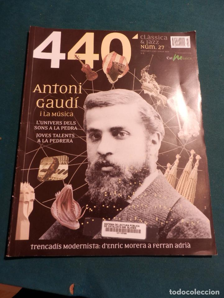 Revistas de música: 440 CLÀSSICA & JAZZ - LOTE 34 REVISTAS EN CATALÀ Nº 2-3-4-5-6-7-8-9-10-11-12-13-14-15-16-17-18-19... - Foto 21 - 65452894