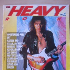 Revistas de música: HEAVY ROCK Nº 49, YNGWIE MALMSTEEN, SABLE, AZUZENA, KISS, MOTLEY CRUE, EUROPE, TOPO.... Lote 160191506