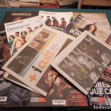 Revistas de música: ALBERT PLA -PASCAL COMELADE -QUIMI PORTET -ANTÒNIA FONT - LOTE DE 13 REVISTAS SOBRE ELLOS (ENDERROCK. Lote 65725722