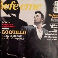 Revistas de música: LOQUILLO - REVISTA EFE ME - VAN MORRISON, TALKING HEADS - 2006. Lote 65775970