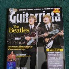 Revistas de música: REVISTA GUITARRISTA THE BEATLES . Lote 65921598