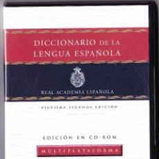 Revistas de música: CD-ROM - DICCIONARIO LENGUA ESPAÑOLA - GUIA DE USO - ESPASA 2007. Lote 66112790