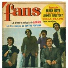 Revistas de música: REVISTA FANS 102. 8 MAYO 1967. Lote 66916490