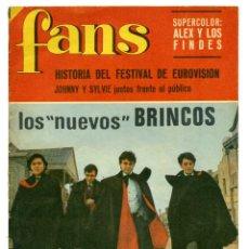 Revistas de música: REVISTA FANS 98. 10 ABRIL 1967. Lote 66917666