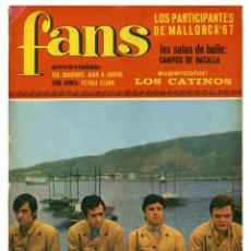Revistas de música: REVISTA FANS 104. 22 MAYO 1967. Lote 66918750