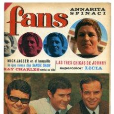 Revistas de música: REVISTA FANS 103. 15 MAYO 1967. Lote 66919054