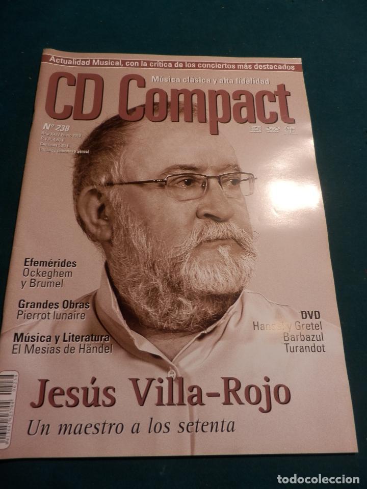 Revistas de música: CD COMPACT - REVISTA DE MÚSICA CLÁSICA Y ALTA FIDELIDAD - LOTE DE 15 Nº 226-233-235-236-237-238... - Foto 8 - 67855689