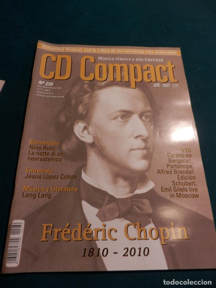 Revistas de música: CD COMPACT - REVISTA DE MÚSICA CLÁSICA Y ALTA FIDELIDAD - LOTE DE 15 Nº 226-233-235-236-237-238... - Foto 9 - 67855689