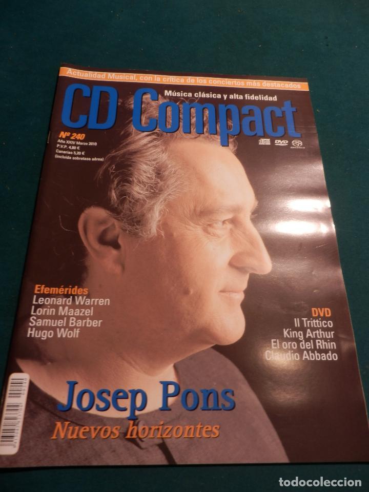 Revistas de música: CD COMPACT - REVISTA DE MÚSICA CLÁSICA Y ALTA FIDELIDAD - LOTE DE 15 Nº 226-233-235-236-237-238... - Foto 10 - 67855689