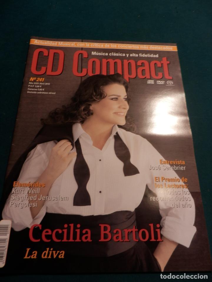Revistas de música: CD COMPACT - REVISTA DE MÚSICA CLÁSICA Y ALTA FIDELIDAD - LOTE DE 15 Nº 226-233-235-236-237-238... - Foto 11 - 67855689