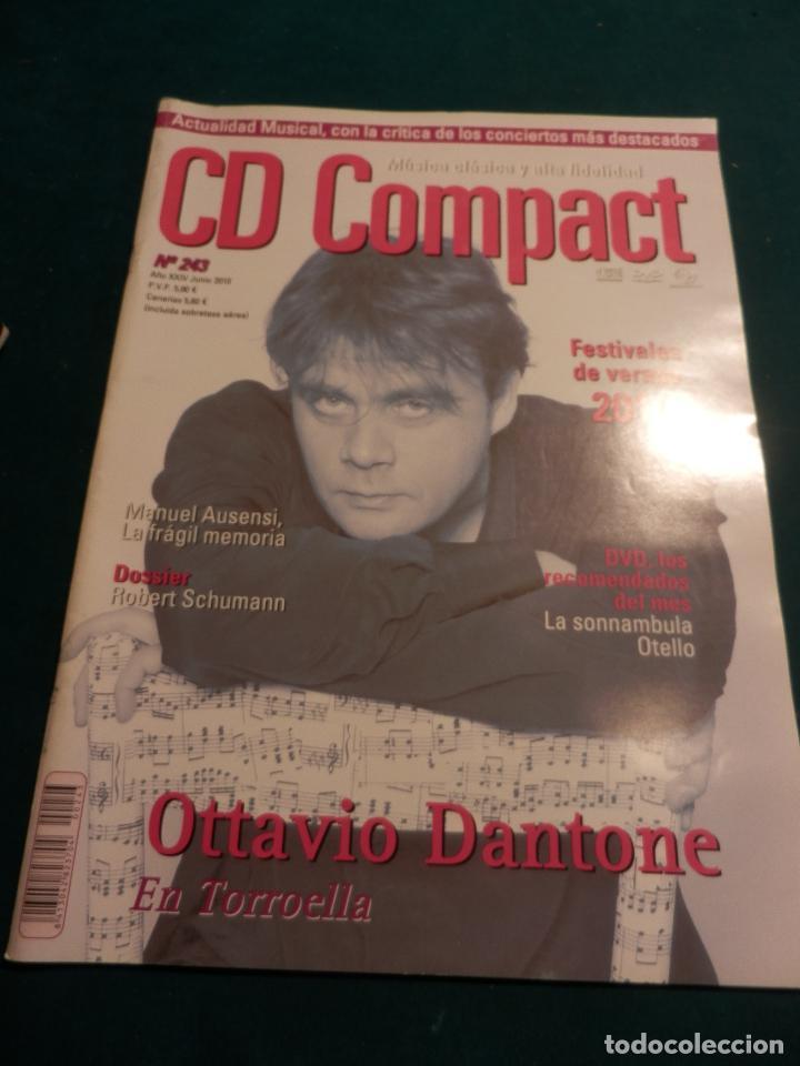 Revistas de música: CD COMPACT - REVISTA DE MÚSICA CLÁSICA Y ALTA FIDELIDAD - LOTE DE 15 Nº 226-233-235-236-237-238... - Foto 13 - 67855689