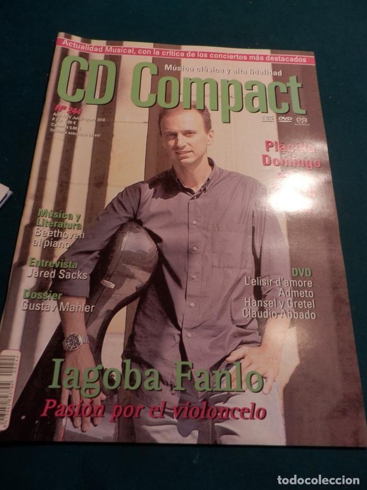 Revistas de música: CD COMPACT - REVISTA DE MÚSICA CLÁSICA Y ALTA FIDELIDAD - LOTE DE 15 Nº 226-233-235-236-237-238... - Foto 14 - 67855689