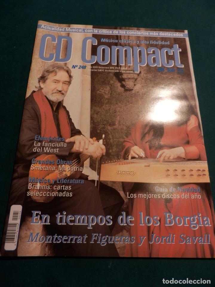 Revistas de música: CD COMPACT - REVISTA DE MÚSICA CLÁSICA Y ALTA FIDELIDAD - LOTE DE 15 Nº 226-233-235-236-237-238... - Foto 16 - 67855689