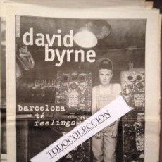Revistas de música: ROCK&CLASSIC SUPL.AVUI 21-05-1997 DAVID BYRNE,PLACEBO,REEF,ZITZANIA,LA BUENA VIDA. Lote 68145417