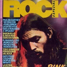 Revistas de música: ROCK ESPEZIAL Nº 8 ABRIL 1982, PINK FLOYD: NUMEROS ROJOS, PAUL MCCARTNEY. Lote 68163725