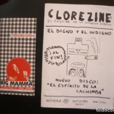 Riviste di musica: CLOREZINE- FANZINE DE LA EXPLOSIÓN CLORETILO.. Lote 68231533