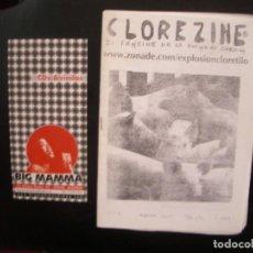 Riviste di musica: CLOREZINE- FANZINE DE LA EXPLOSIÓN CLORETILO.. Lote 68232225