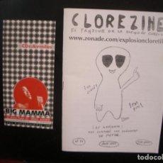 Riviste di musica: CLOREZINE- FANZINE DE LA EXPLOSIÓN CLORETILO.. Lote 68232293