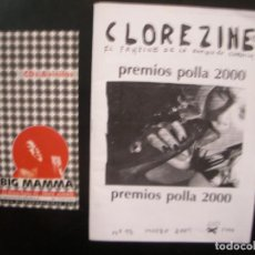 Riviste di musica: CLOREZINE- FANZINE DE LA EXPLOSIÓN CLORETILO.. Lote 68232337