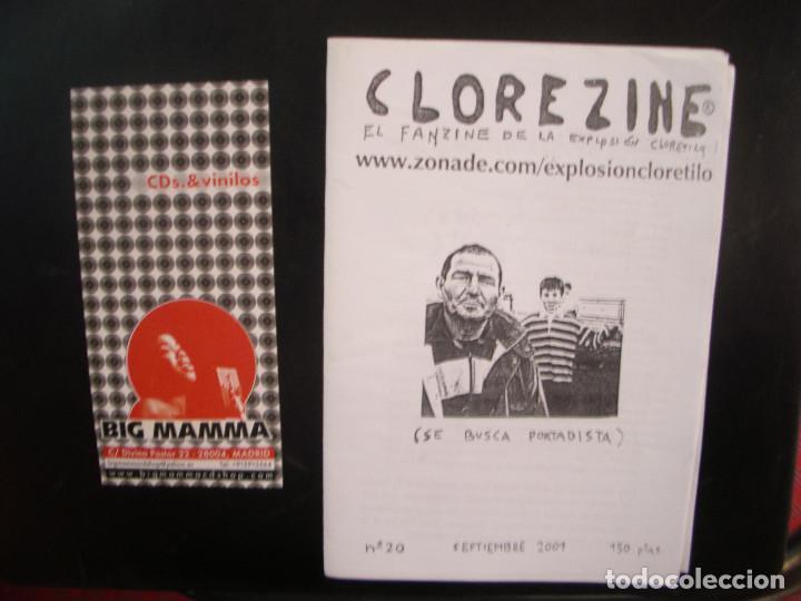 CLOREZINE- FANZINE DE LA EXPLOSIÓN CLORETILO. (Música - Revistas, Manuales y Cursos)