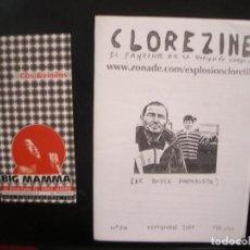 Riviste di musica: CLOREZINE- FANZINE DE LA EXPLOSIÓN CLORETILO.. Lote 68232381