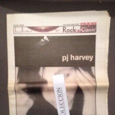 Revistas de música: ROCK&CLASSIC SUPL.AVUI 18-10-2000 PJ HARVEY,ST GERMAIN,HEFNER,ZEA'S,HERZIA,ARMANDO,LOS FLECHAZOS. Lote 68238265