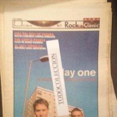 Revistas de música: ROCK&CLASSIC SUPL.AVUI 01-03-2000 DAY ONE,THE GENTLE PEOPLE,FEST.JAZZ TERRASSA,FIRA DISC GIRONA,. Lote 68238477