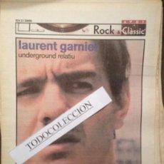 Revistas de música: ROCK&CLASSIC SUPL.AVUI 23-02-2000 LAURENT GARNIER,SMASHING PUMPKINS,YES,SGAE,R.MUNTANER,LA MOSCA,. Lote 68238777
