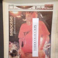 Revistas de música: ROCK&CLASSIC SUPL.AVUI 26-01-2000 SNAPCASE,LADOMAT,ARIEL ROT,LES DROGUES I EL ROCK,MARK E.SMITH. Lote 68289633