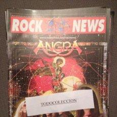 Revistas de música: ROCK NEWS 43 NOV-DIC 2004 ANTHRAX, ANGRA,POSTER MNEMIC. Lote 95032982