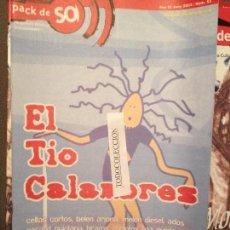 Revistas de música: PACK DE SO 53 JUNY 2003 TIO CALAMBRES,G.QUINTANA,CELTAS CORTOS,BRAMS,USER NE,MELON DIESEL. Lote 68372157