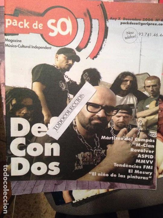 PACK DE SO 64 DESEMBRE 2004 DEF CON DOS,M-CLAN,MARTIRES DEL COMPAS,REVOLVER,ASPID segunda mano