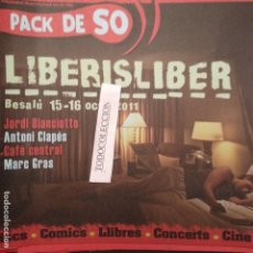 Revistas de música: PACK DE SO 105 (2011) JORDI BIANCIOTTO,ANTONI CLAPES, MARC GRAS,CAFE CENTRAL,. Lote 68402809