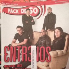 Revistas de música: PACK DE SO 102 (2010) 3NTR3NOS, MAGO DE OZ, EUKZ,MAJOR ARCANA,EL ULTIMO KE ZIERRE. Lote 68403477
