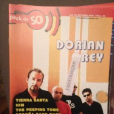 Revistas de música: PACK DE SO 40 OCT 20001 DORIAN GREY,TIERRA SANTA,HIM,THE PEEPING TOMS,CHEB BALOWSKY,A PALO SEKO,. Lote 68410253