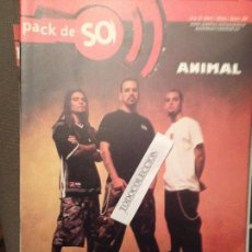 Revistas de música: PACK DE SO 28 ANIMAL,GAMBAS,WALLRIDE,SU TA GAR,MUTIS,MARC BERTRAN,LITTLE STEVEN,DR.DESEO. Lote 68546701