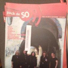 Revistas de música: PACK DE SO 19 SKA-P,KE RULE,AI AI AI,WHISKYN'S,DIUCA,MEDINA AZAHARA,ROCK MEJICANO. Lote 68974097