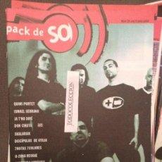 Revistas de música: PACK DE SO 24 QUIMI PORTET,ISMAEL SERRANO,SINDICATO DEL CRIMEN,JA T'HO DIRE,DISCIPULOS OTILIA,ARI. Lote 68547749
