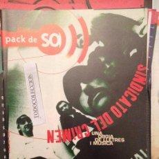 Revistas de música: PACK DE SO 11 (1997) SINDICATO DEL CRIMEN,BRAMS,TEXAS,LA GRAN AVENTURA,KOMANDO MORILES.NEGATIVOS,. Lote 68548001