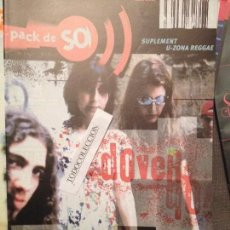 Revistas de música: PACK DE SO 13 (1997) DOVER,BARON ROJO,GILBY CLARKE,LIFE OF AGONY,SOMETHING, U-ZONA REGGAE. Lote 68548329