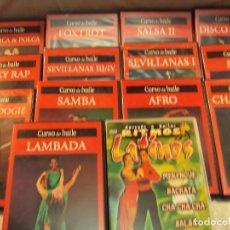 Revistas de música: BAILE Y DANZA, 14 PELÍCULAS PARA APRENDER A BAILAR EN CASA COMENZANDO DE 0 Y PASO POR PASO. Lote 68637569